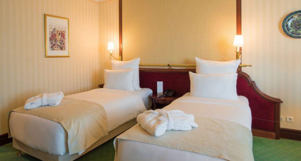 Стандартный двухместный с раздельными кроватями и одноместным размещением